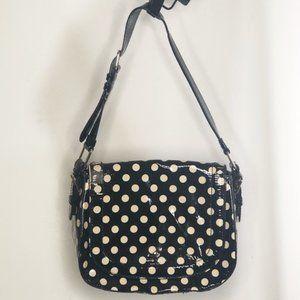 Kate Spade Polka Dot Saddle Bag